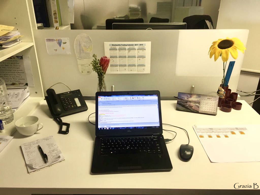 My desk pic